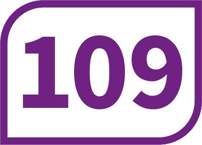 109 CARPIQUET Rue des Écoles <-> CAEN Lycée de Gaulle